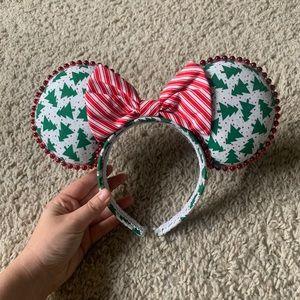 Custom Made Mickey Ears (Christmas)